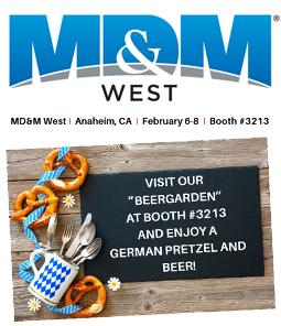 COME AND VISIT ADMEDES AT THE MD&M WEST!